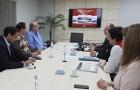 Directores exponen proyectos y acciones de la ITAIPU a gobernador electo del Alto Paraná
