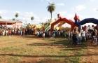 Festejo del Día del Niño en el  barrio ecológico Las Colinas